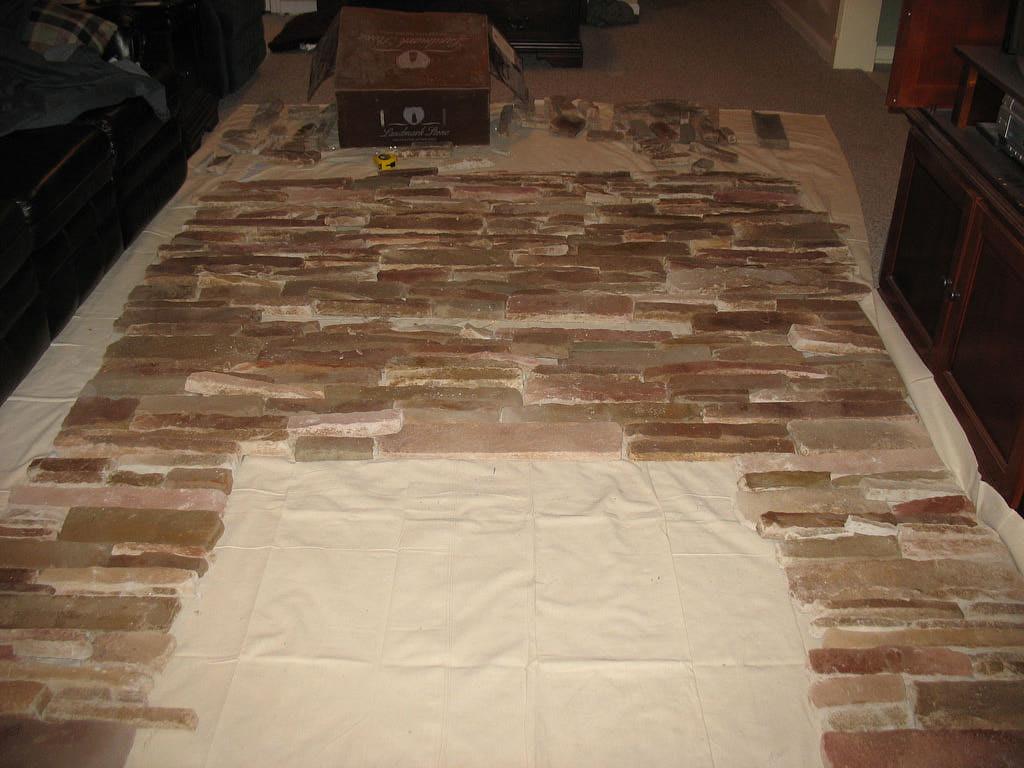 Installing Stone Veneers : How to install stone veneer shower panels