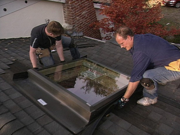 Installing a Skylight in a Garage Ceiling