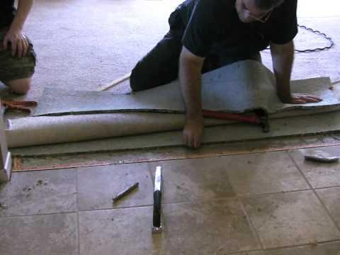 Tile Floor Transition