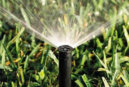 In-Ground sprinkler