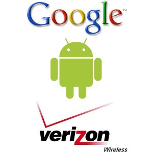 Android Robot and Verizon