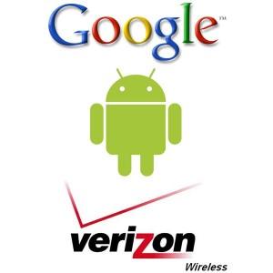 Android Robot and Verizon