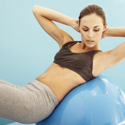 How to Lose Weight with a Fitness Ball