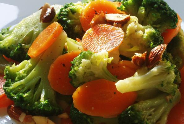 Broccoli and Carrot Salad