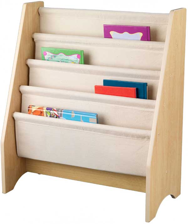Kidkraft white toddler bed - Book Shelves For Kids Interior Design Ideas