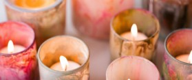 Decorative Votive Candles