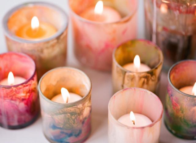 Decorative Votive Candles