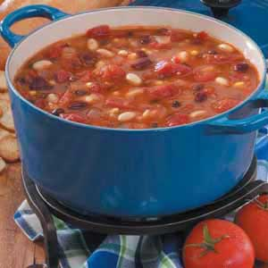 Southwestern Bean Soup Recipe