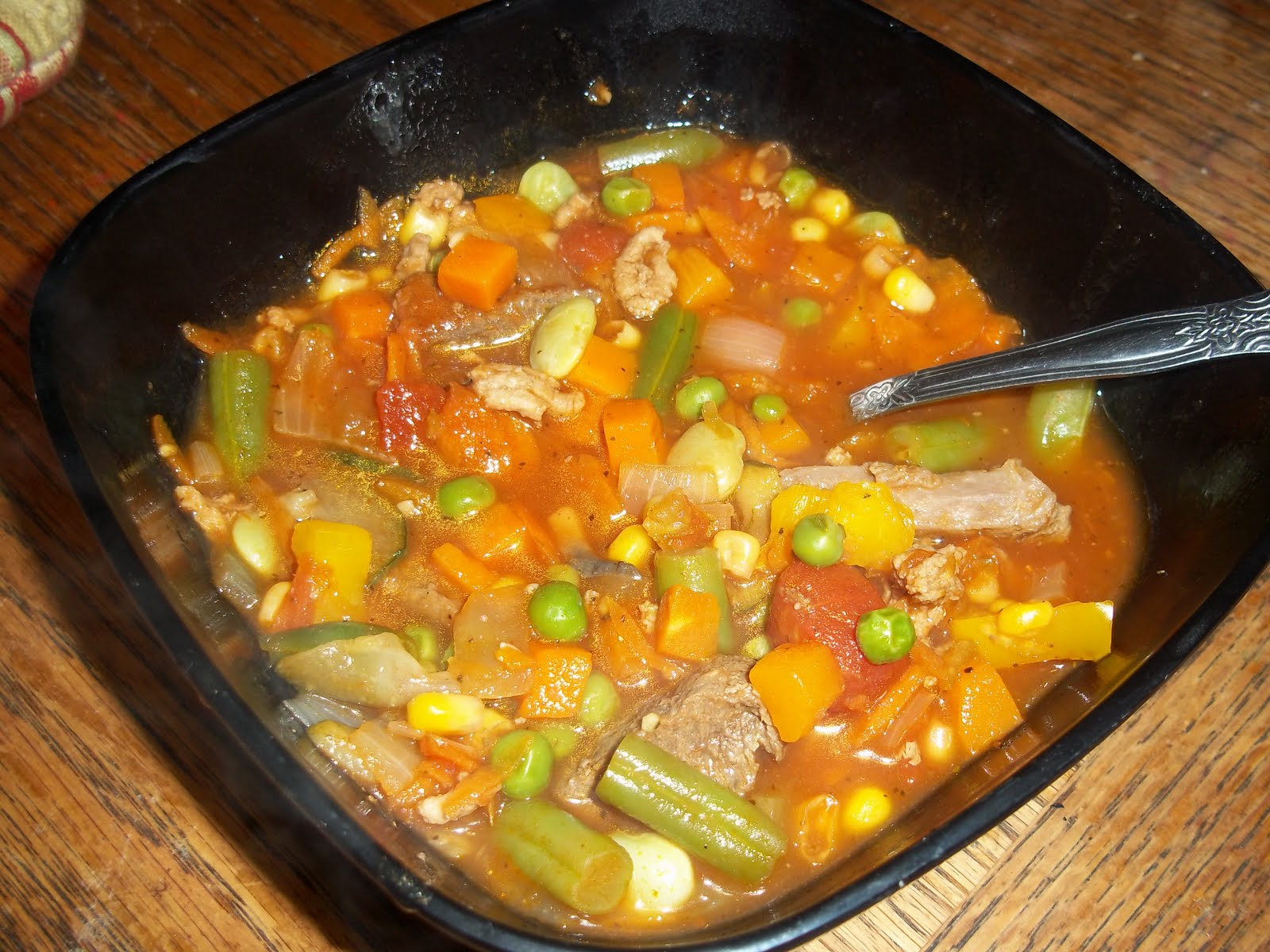 Super Quick and Easy Vegetable Soup