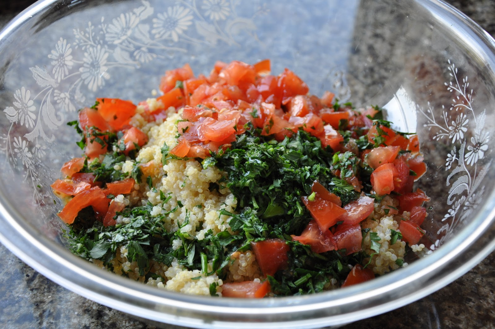 Tossed tabouli