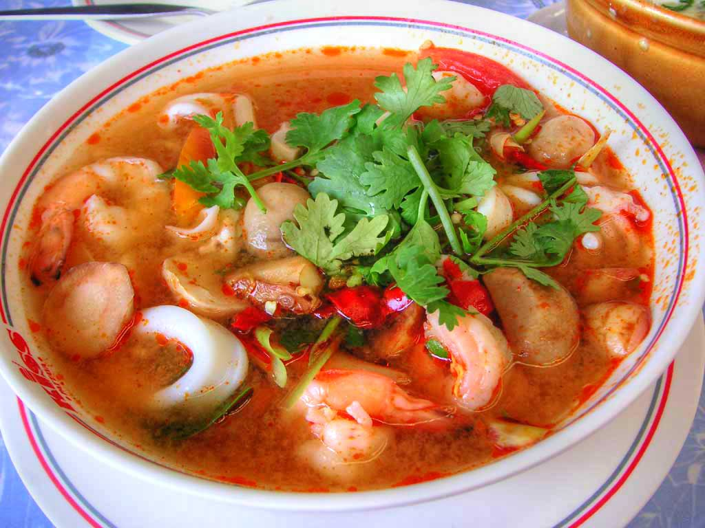 Thai spicy seafood soup recipe for Thai fish soup