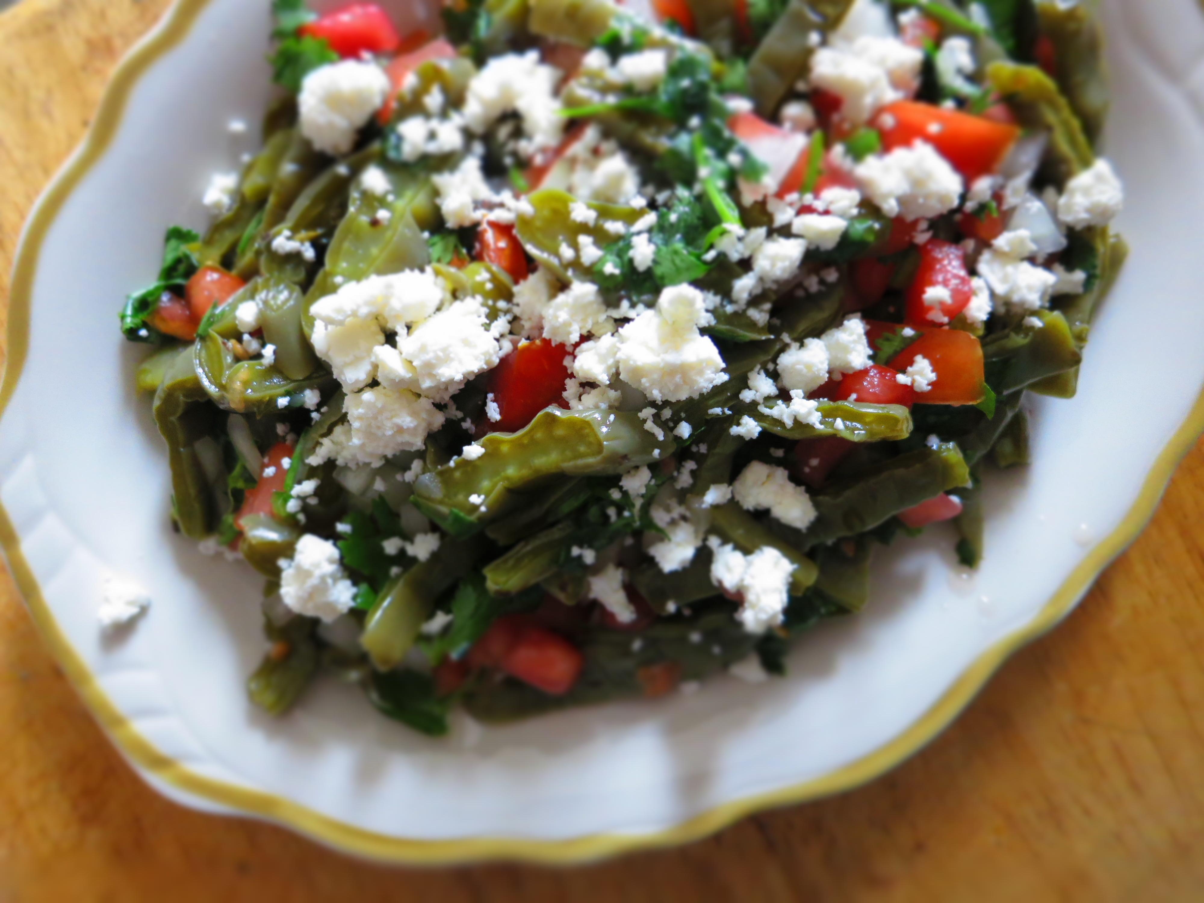 Cactus salad, good for health