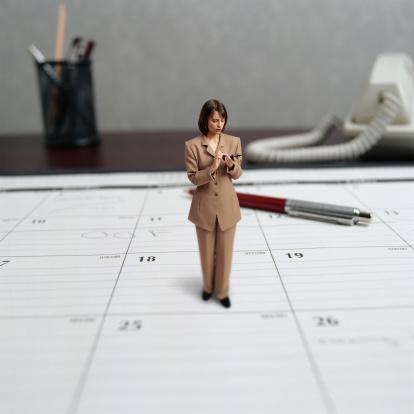 Mobile calendar makes it easy