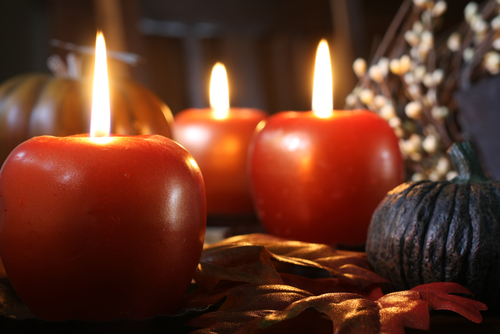 Candle Apple Holders