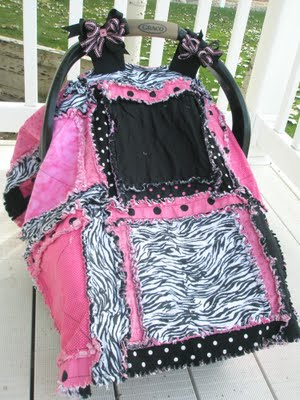 How to Make a Car Seat Tent for a Kid