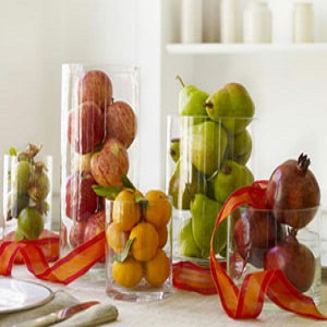 Fruit Vase Centerpiece