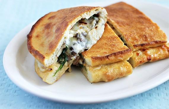Potato and Blue Cheese Calzone