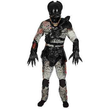 A typical predator costume