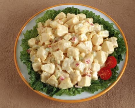 Delicious potato salad