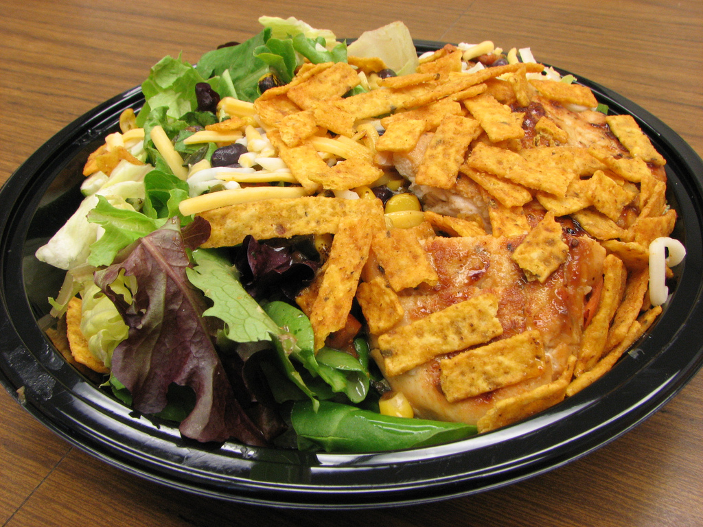 Southwest Salad, tasty and colourful