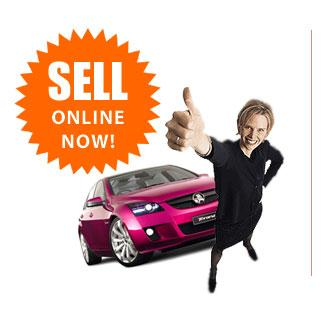 Sell a car on the internet