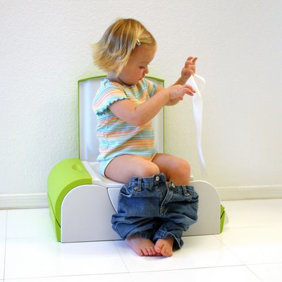 potty training a child