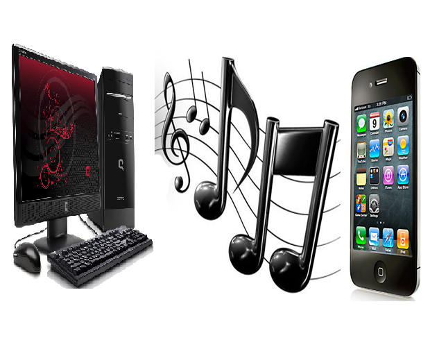 Music From an iPhone to a PC