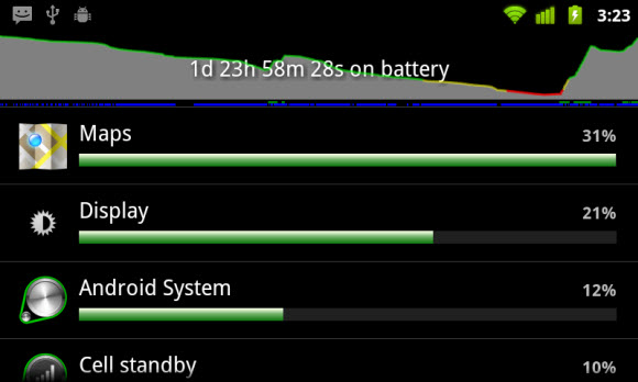 Android Battery Settings