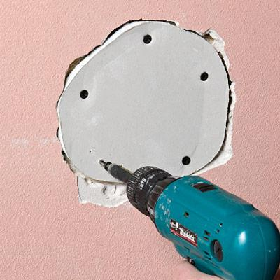 Repairing Damaged Plaster
