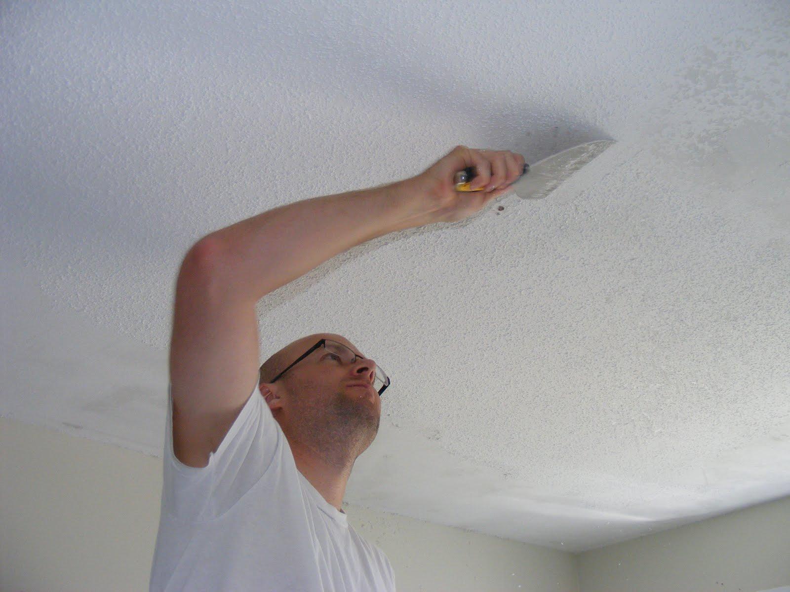 Repair ceiling yourself