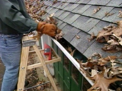 Repair and Clean Gutters