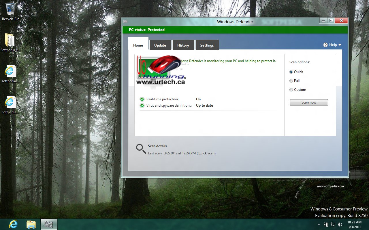 Windows Defender, great