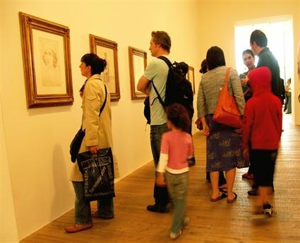An art gallery
