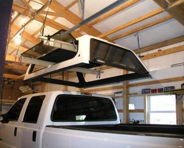 Remove a Truck Canopy