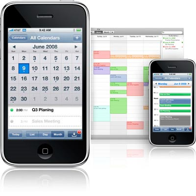 Send Appointments to an iPhone Calendar