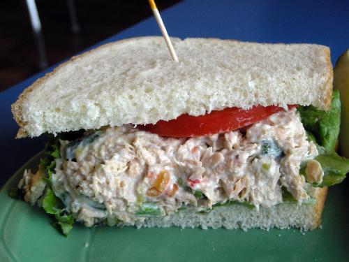 Tuna Salad with Variety