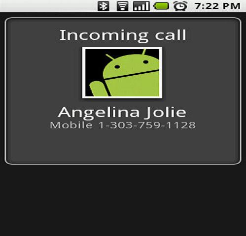 fake call from angelina jolie