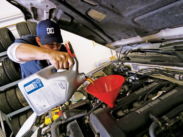 Oil Change Business
