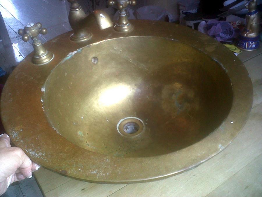 Stoping Corrosion in Brass Sinks