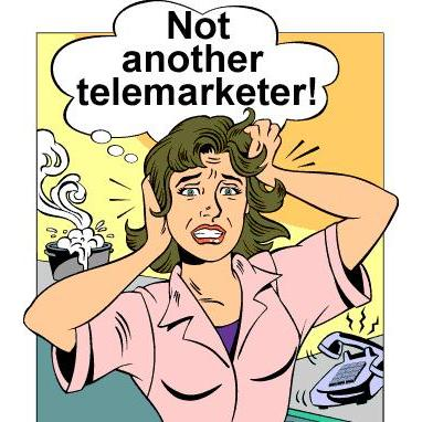 Telemarketing calls can be annoying