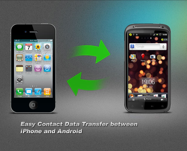 Syncing Contact Data iPhone and Android Device