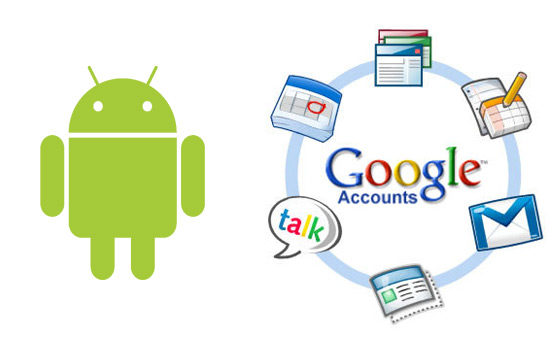 Google account syncing with Android
