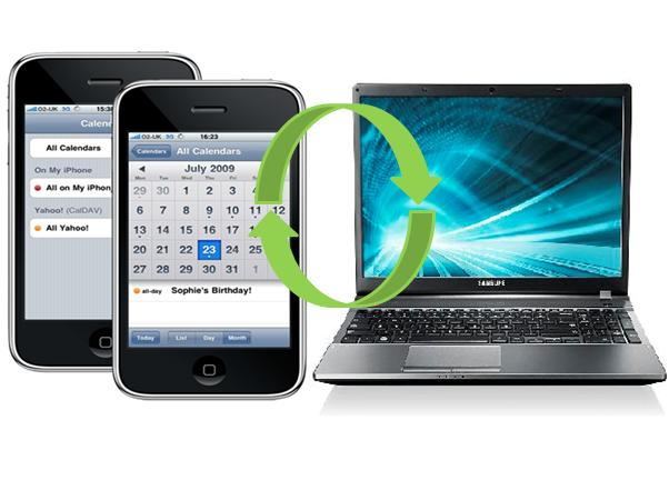 Sync an iPhone Calendar With a Laptop
