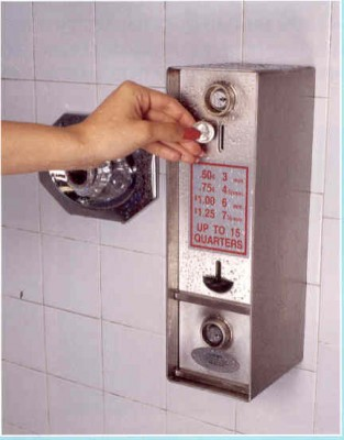 How To Use A Coin Operated Shower