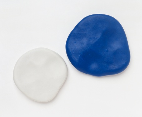 Two pieces of fimo