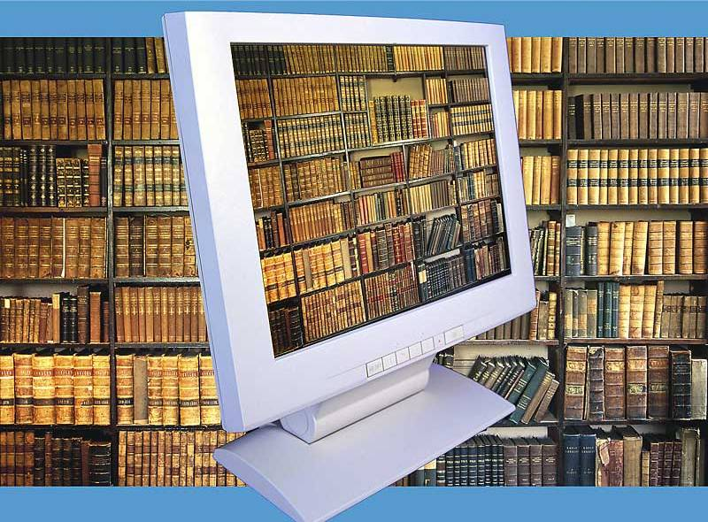 Using an Online College Library