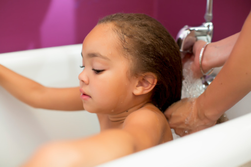 Girl Hair Wash