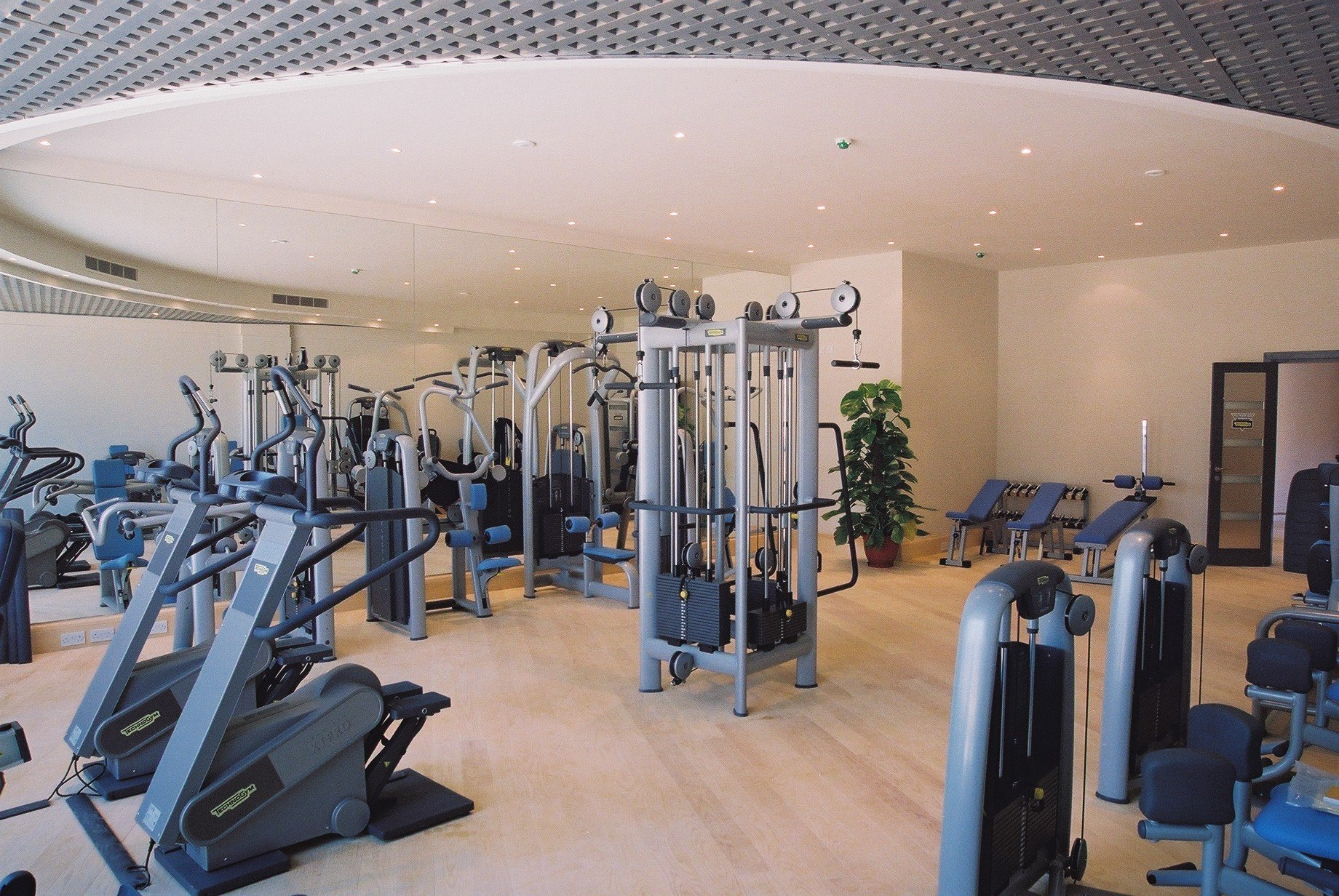 A Commercial Gym