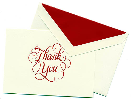 Write a Sales Visit Thank You Note