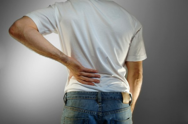 Back pain due to stones in Kidney